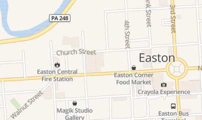 Directions for State Theatre Center for the Arts in Easton, PA 453 Northampton St