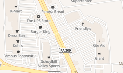 Directions for Pennsylvania Institute of Massage Therapy in Quakertown, PA 9 N West End Blvd