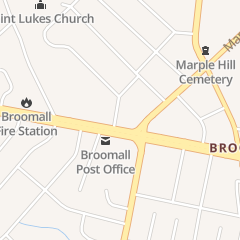 Directions for Silver Music Studios in Broomall, PA 2619 W Chester Pike