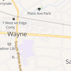 Directions for St. Mary's Episcopal Church in Wayne, PA 104 Louella Ave