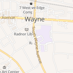 Directions for Radnor Township Public Schools in Wayne, PA 135 S Wayne Ave