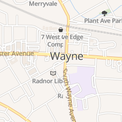 Directions for Central Nursery School in Wayne, PA 111 W Wayne Ave