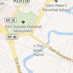 Directions for The Vigneto Restaurant in Rome, NY 229 E Dominick St