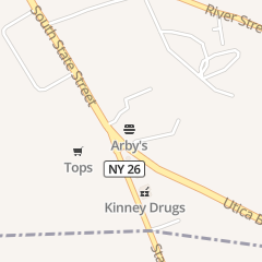 Directions for Arby's Restaurant in Lowville, NY 7416 Utica Blvd