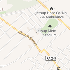 Directions for St James Rectory in Jessup, PA 605 Church St