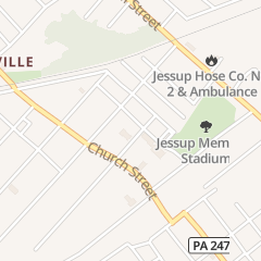 Directions for Rectory Saint James in Jessup, PA 316 1st Ave