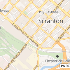 Directions for City Cafe in Scranton, PA 116 N Washington Ave