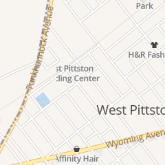 Directions for 8th Street Family Chiropractic Center in Wyoming, PA 131 5th St