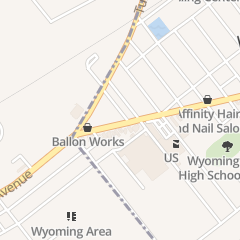 Directions for Tiffany's Treasures in Wyoming, PA 908 Wyoming Ave