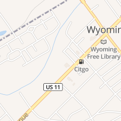 Directions for Pennsylvania State Police in Wyoming, PA 475 Wyoming Ave