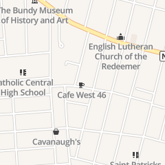 Directions for Cafe West 46 in Binghamton, NY 46 Seminary Ave