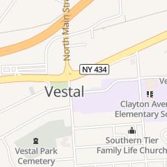 Directions for Bright Nails in Vestal, NY 104 Vestal Pkwy E
