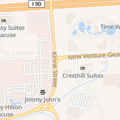 Directions for Krissie's Joint in East Syracuse, NY 6500 New Venture Gear Dr Ste A