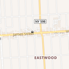 Directions for Sabastino's in Syracuse, NY 2906 James St
