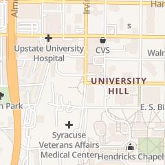 Directions for Casper Janina K Phd in Syracuse, NY 766 Irving Ave