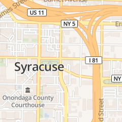 Directions for Pine Ridge Pastoral Counseling Services in Syracuse, NY 504 e Fayette St