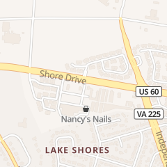 Directions for Nancy Nails in Virginia Beach, VA 5193 Shore Dr Ste 103
