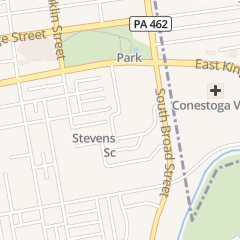 Directions for Thaddeus Stevens College of Technology in Lancaster, PA 750 e King St