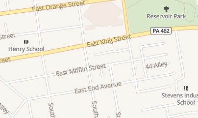 Directions for Abc Beverage Sales PA in Lancaster, PA 43 S Marshall St