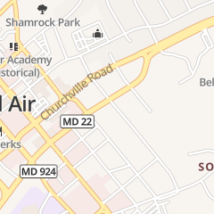 Directions for PODIATRIC PHYSICIANS & SURGEONS in BEL AIR, md 215 FULFORD AVE