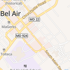 Directions for Tim Sullivan Properties Inc in Bel Air, MD 21 Powell Ave