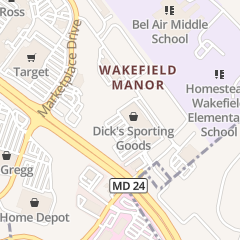Directions for Dick's Sporting Goods in Bel Air, MD 540 W Macphail Rd