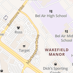 Directions for Harford Bank in Bel Air, MD 545 Marketplace Dr