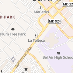 Directions for Margheritas in Bel Air, MD 306 Baltimore Pike