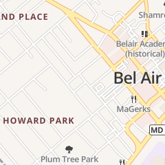 Directions for MILTON ELECTRIC COMPANY in Bel Air, MD 16 N Hays St