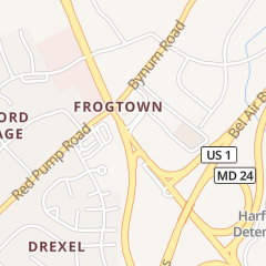 Directions for Mcdonald's Restaurant in Bel Air, MD 1405 Rock Spring Rd