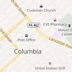 Directions for Studio 451 in Columbia, PA 451 Locust St