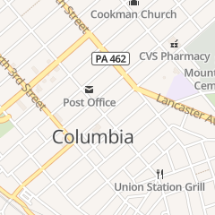 Directions for Our Hidden Treasures in Columbia, PA 417 Locust St