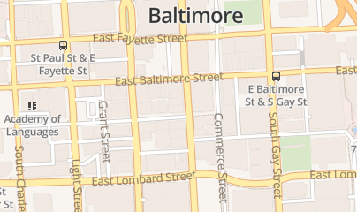 Directions for DCA Digital in Baltimore, MD 10 South St