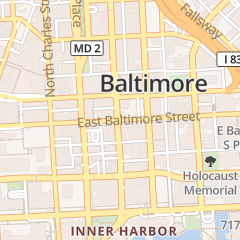 Directions for Chesapeake Shakespeare Company in Baltimore, MD 7 S Calvert St