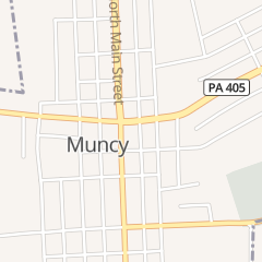Directions for The Hair Quarters in Muncy, PA 1 S Main St