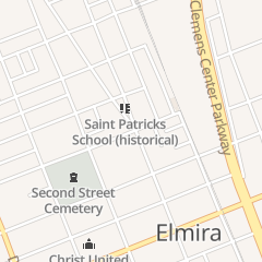 Directions for Evergreen in Elmira, NY 505 N Main St