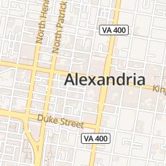 Directions for Penelope's Vanity in Alexandria, VA 109 S Columbus St