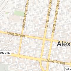 Directions for Art Underfoot in Alexandria, VA 1203 King St