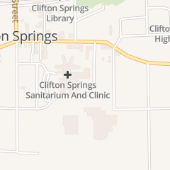 Directions for Clifton Springs in Clifton Springs, NY 7 Ambulance Dr