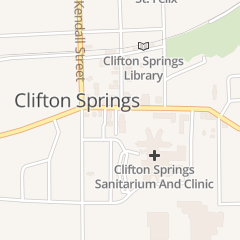 Directions for Clifton Springs in Clifton Springs, NY 1 W Main St