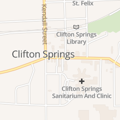 Directions for Catamount Associates in Clifton Springs, NY 5 W Main St