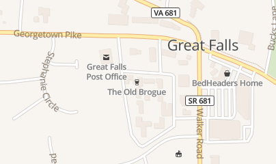 Directions for The Old Brogue in Great Falls, VA 760 Walker Rd