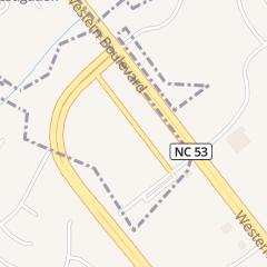 Directions for Dakota Associates in Jacksonville, NC 1092 Hampton Inn Way Ste 300