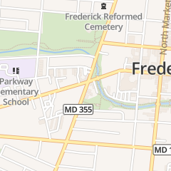 Directions for Custer Karen in FREDERICK, MD 208 W Patrick St