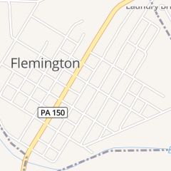 Directions for First Church of Christ Flemington in Lock Haven, PA 527 Sturdevant St