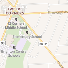 Directions for Brighton Central School District in Rochester, NY 2035 Monroe Ave