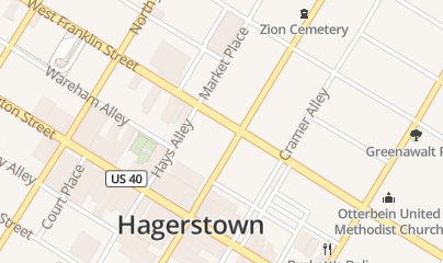Directions for Oasis Hookah Lounge in Hagerstown, MD 53 S Potomac St