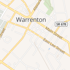Directions for Brooker F Elizabeth in Warrenton, VA 54 E Lee St