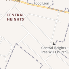 Directions for Central Heights Holy Church in Goldsboro, NC 719 Luther Dr