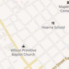 Directions for Christian Church Stoneybrook in Wilson, NC 308 Vance St NE